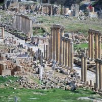 The Colonnaded Street - Jerash