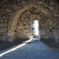 Inside Azraq Fort