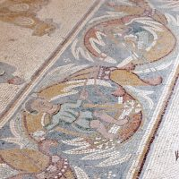 Mosaic Floor in Madaba Apostle Church