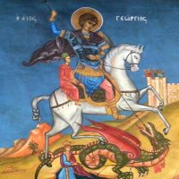 St. George Wall Painting in St. George Church