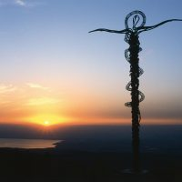 The Serpentine Cross (The Brazen Serpent Monument) - Mount Nebo