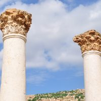 The Golden Corinthian Columns of Pella