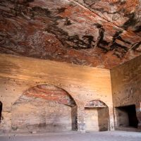 Inside the Royal Tombs in Petra