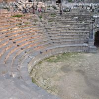 The Western Roman Theater - Umm Qais