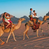 Camel Tours in Wadi Rum