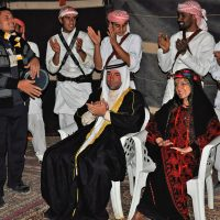 Joyful Folkloric Celebrations at Wadi Rum
