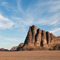 The Seven Pillars of Wisdom at Wadi Rum