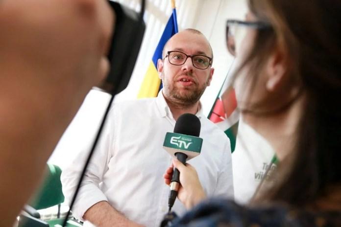 Porcsalmi Bálint, az RMDSZ ügyvezető elnöke. Fotó: RMDSZ