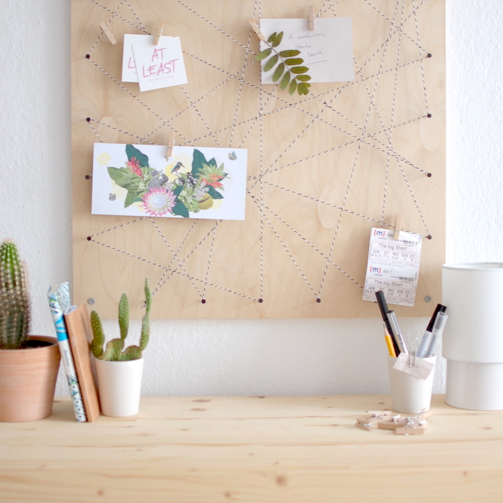 at least - Pinnwand DIY: Memoboard