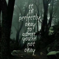 when i say i'm ok.....i may NOT be!