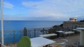 Was für ein Traumblick über's Meer ...