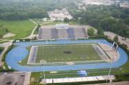 O'Brien Stadium on the campus of Eastern Illinois University in Charleston, Illinois on July 1, 2011. (Jay Grabiec)