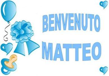 Fiocco azzurro in casa Vitto – BENVENUTO MATTEO!!!