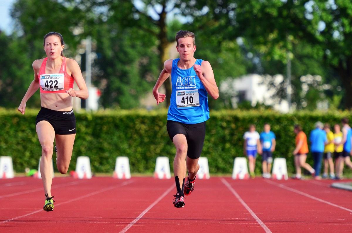 Tom 100 meter avondwedstrijd Best