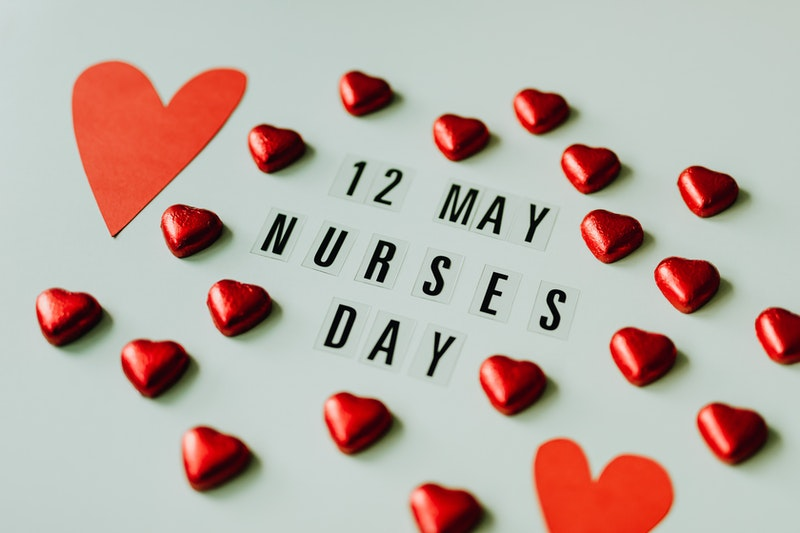 12 May, Nurses Day - Hearts