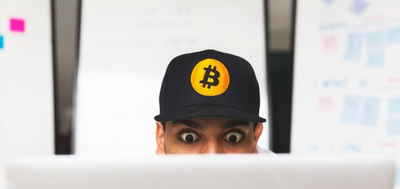 Shocked Bitcoin investor