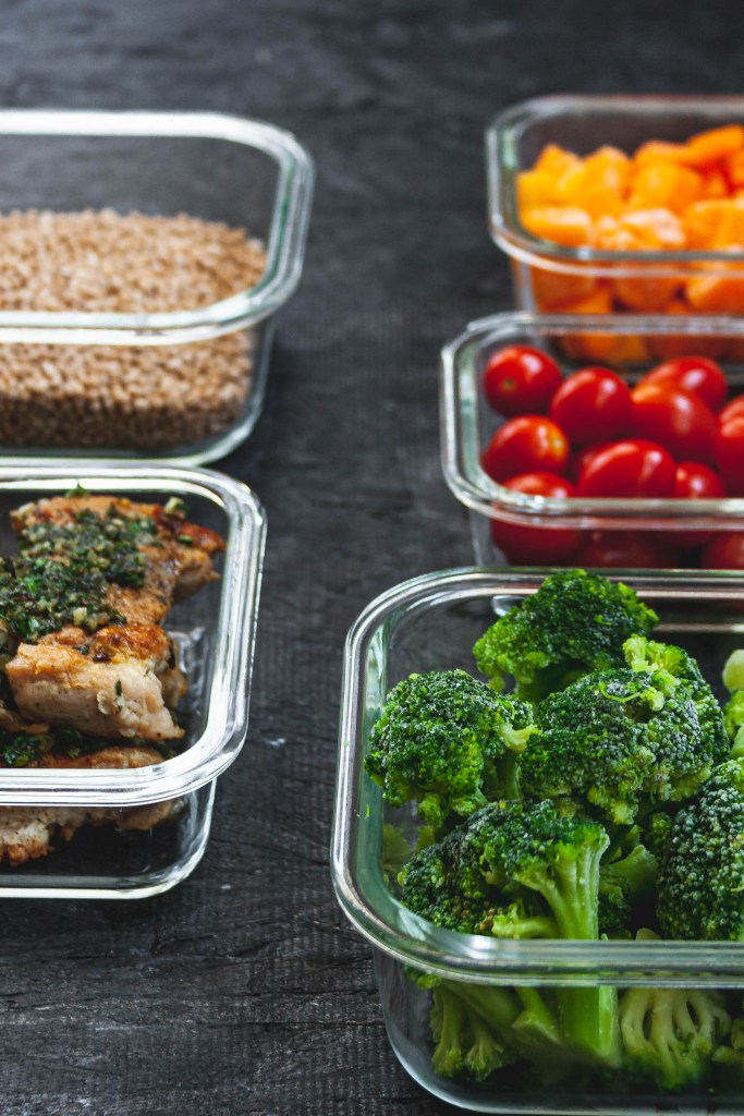 Photo of healthy meal prep