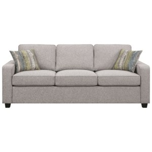 Brownswood Transitional Sofa with Track Arms