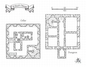 Willard's Manse - Dungeon