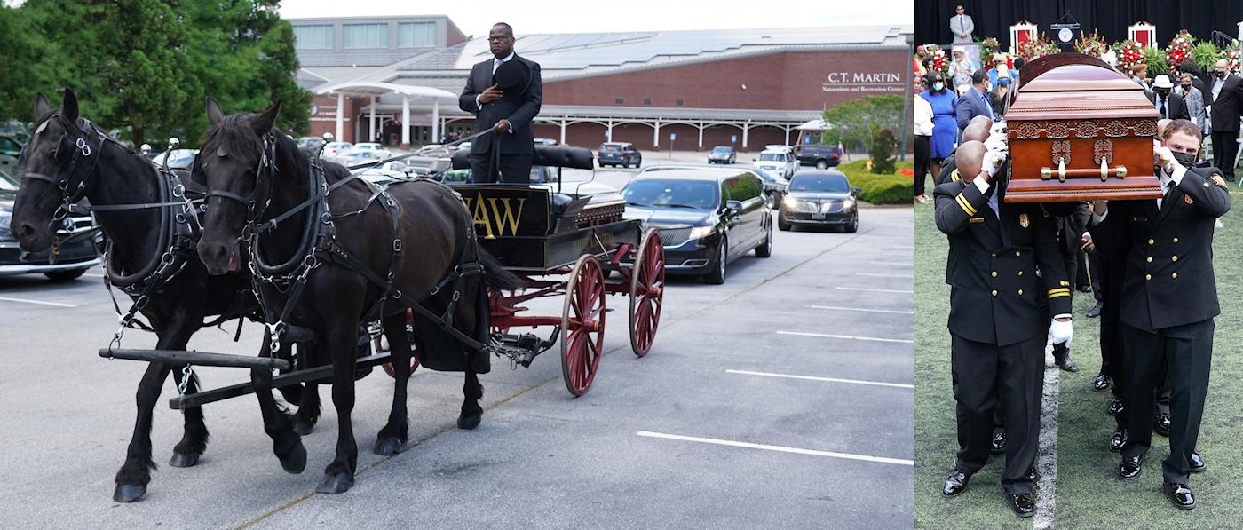 C T Martin Funeral, Photos Courtesy of the Atlanta City Council