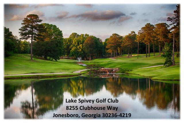 Lake Spivey Golf Course in Jonesboro, Georgia