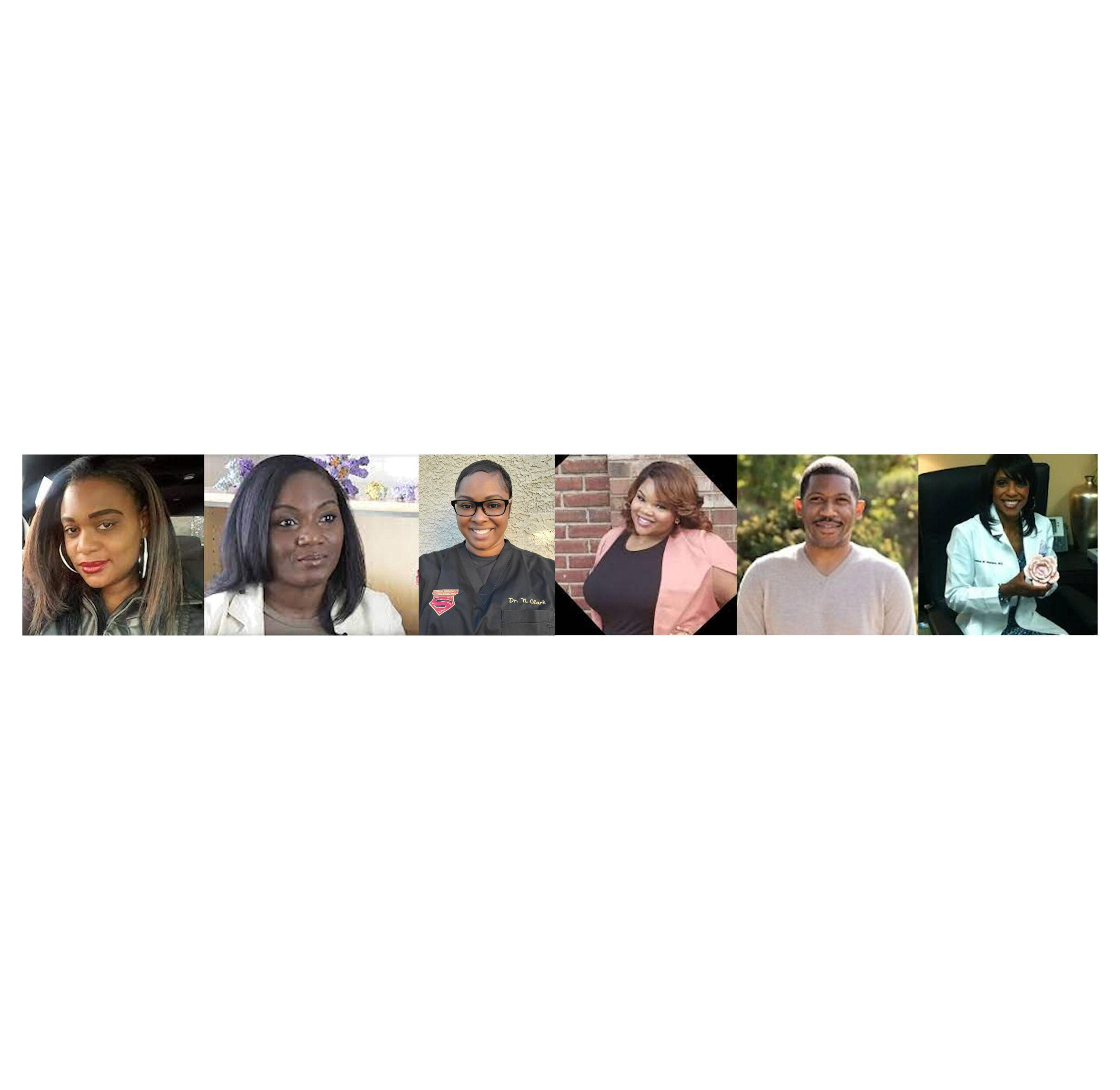 NAACP Moderator and Panelists on COVID: Cherise Jefferson, Dr. Kizzmekia S. Corbett, Dr. Neljah Clark, Dr. Jabril Johnson, Dr. Jacqueline Walters