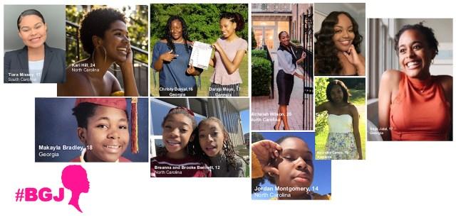 #BGJ - Black Girl Joy Winners (2020)