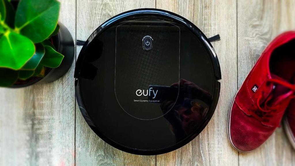 eufy robovac g10 hybrid يوفي جي 10 المكنسة الذكية تكنس وتمسح