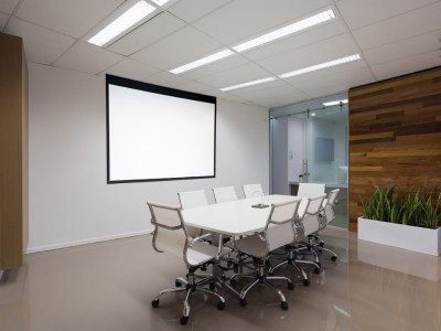 A group meeting room