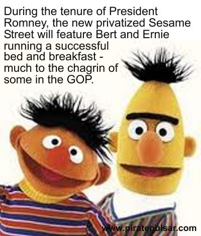 Bert and Ernie's Bed and breakfast