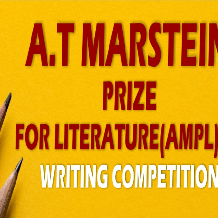 Applications are now closed for the maiden A.T Marstein Prize for Literature(AMPL)writing competition, 2019.