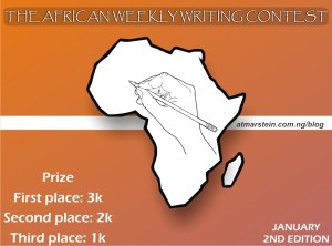 The African Weekly Writing Contest: January, 2nd Edition