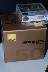 Nikkor 50mm + UV Filter