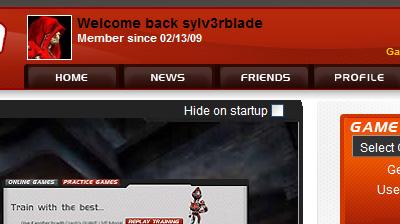 Quake Live Screen