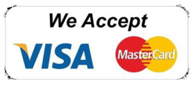 atm decorators accepts visa and master cards