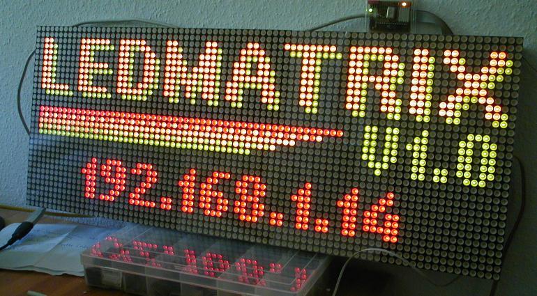 Matrix Led Display Circuit