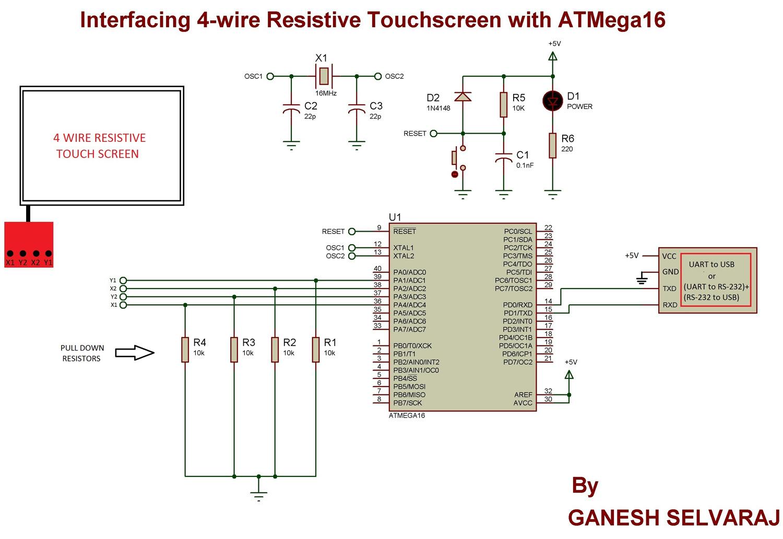 4 wire schematic diagram