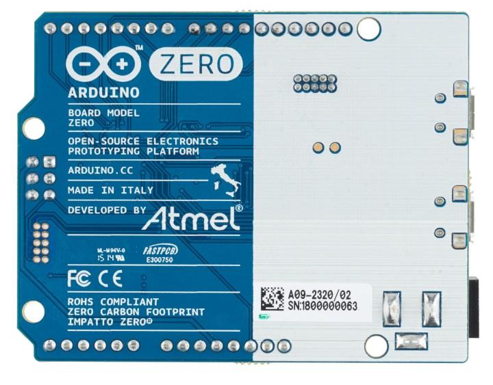 Arduino and Atmel debut Zero dev board   Atmel   Bits & Pieces