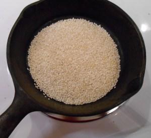 Crunchy Noodle Salad Sesame Seeds