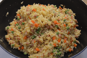 at mimis table ham fried rice in 30 minutes