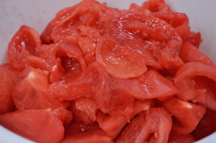 granniegeek, raw tomatoes