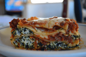 grannie geek, uncle vito's stuffed lasagna
