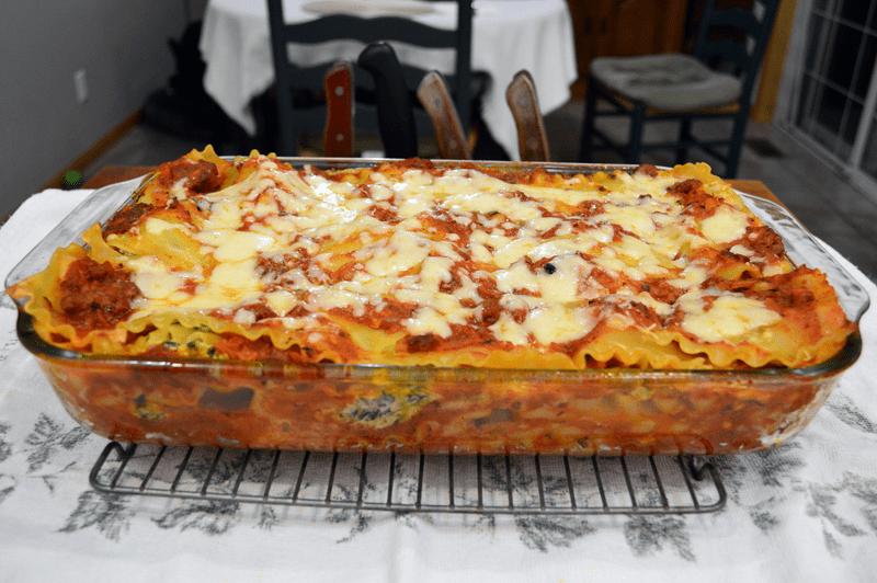 grannie geek, lasagna whole