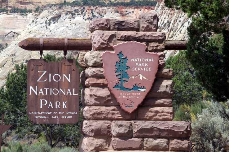 grannie geek zion national park