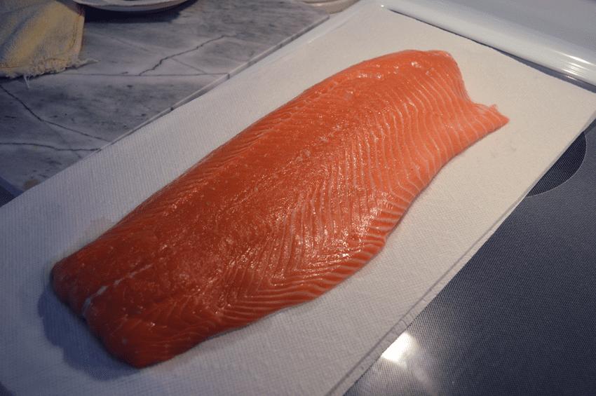 at mimi's table salmon filet raw
