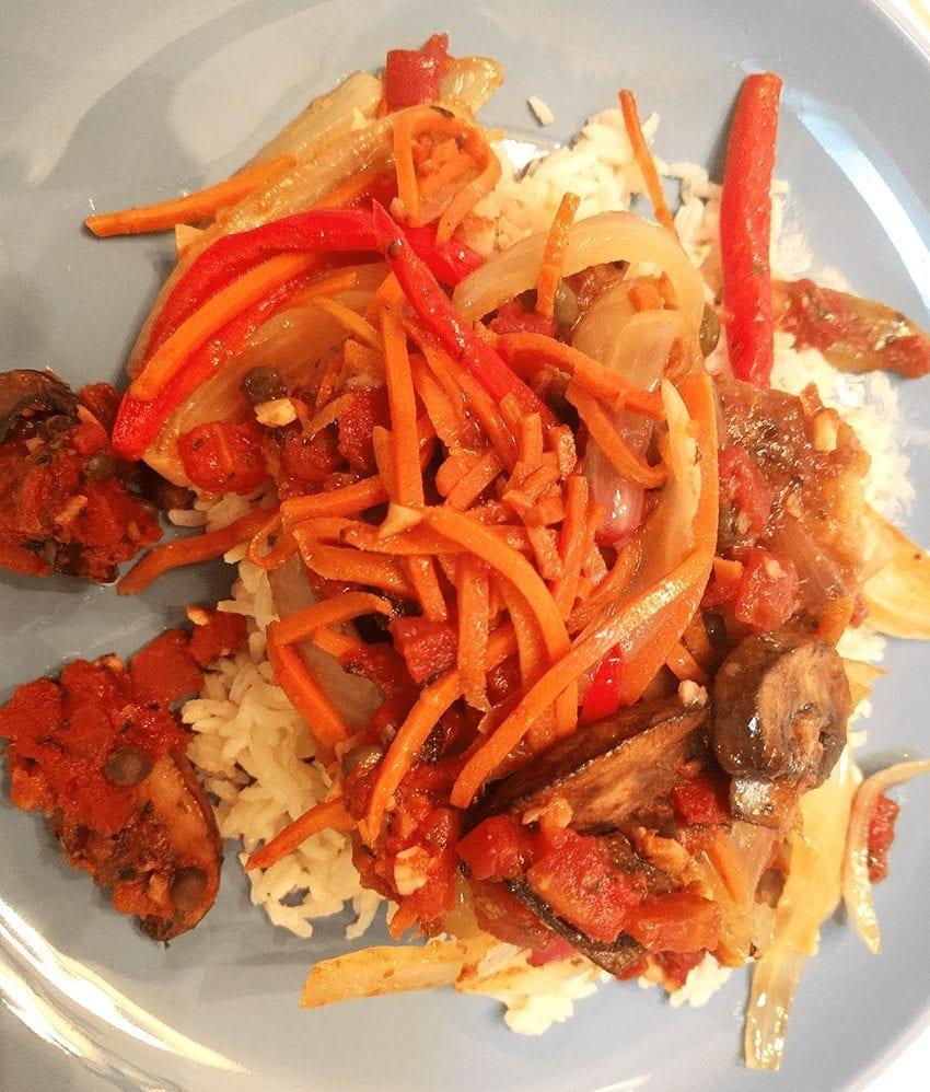 at mimis table pollo contadino chicken farmer style 1