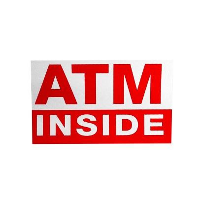 Sticker 1 - ATM Inside Sticker-3x5 Single Sided