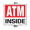 ATM Pole Sign