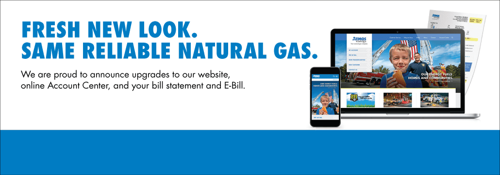 A Fresh New Look With The Same Reliable Natural Gas