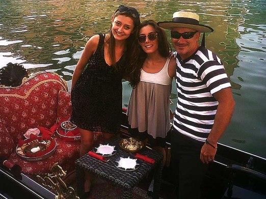 Gondola bollicine tour
